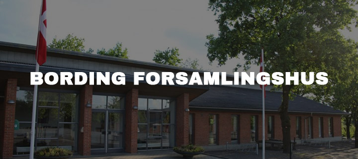 BORDING FORSAMLINGSHUS